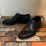 やっぱり男は革靴ではないか・・・紳士であるために。
